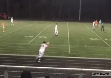 Watch and share Front Flip Throwin Goal Mckinney Boyd GIFs on Gfycat