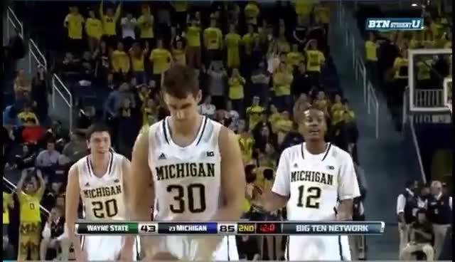 basketball, michigan wolverines, 2014 College Basketball GIFs