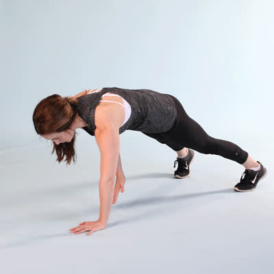 exercise, healthline, work out, 400x400-Plank Reach Under GIFs