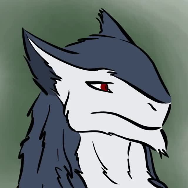Watch and share Sergal Avatar By Tinfoil Man Ui GIFs on Gfycat