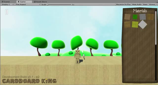 Watch and share Cardboard King - Sandbox PC Game In Development GIFs by toxichax on Gfycat