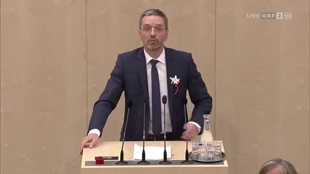 Watch and share Herbert Kickl - Konstituierung, Wahl Der NR-Präsidenten - 9.11.2017 GIFs on Gfycat