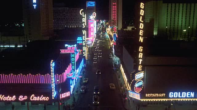 Watch and share Las Vegas, 1977, From Corvette Summer ('78) GIFs on Gfycat