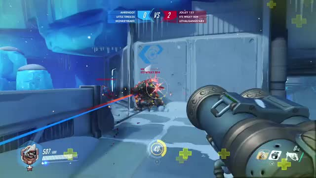 Watch and share Overwatch GIFs and Roadhug GIFs by electricorangejuice on Gfycat
