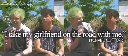 Watch and share 5 Seconds Of Summer GIFs and Michael Clifford GIFs on Gfycat