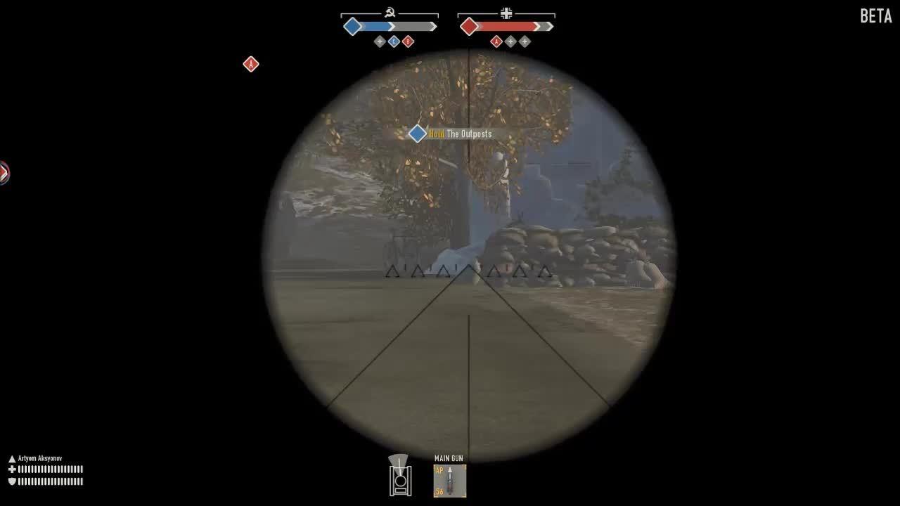 heroesandgenerals, stug, su85, SU85 vs Stug Mantlet #2 GIFs