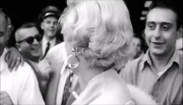 Marilyn Monroe Excerpt from The Love Goddesses GIFs