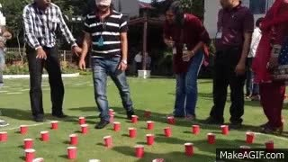 Watch and share Team Building Activities Hyderabad - Blind Fold GIFs on Gfycat