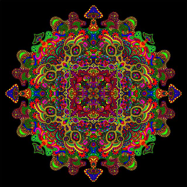 Watch and share Mandala Color Cycle By Dridon GIFs on Gfycat