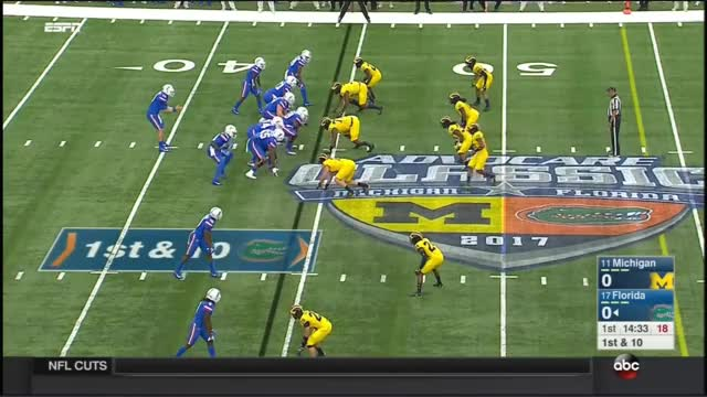 Watch and share 2017 - Michigan Wolverines At Florida Gators In 30 Minutes GIFs on Gfycat