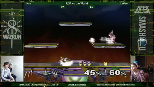 hax takes out leffen apex 2013