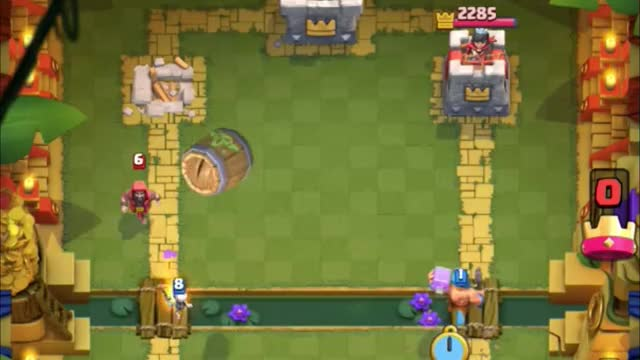 Watch and share Lumber Sparky Bener GIFs by Clash Royale Kingdom on Gfycat