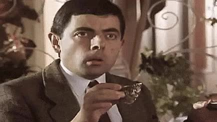 Watch Mr Bean Amazed GIF by Reaction GIFs (@sypher0115) on Gfycat. Discover more Rowan Atkinson GIFs on Gfycat