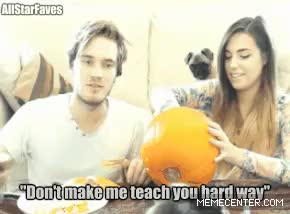 Watch When kids/students don't listen, parents/teachers should be  GIF on Gfycat. Discover more PEWDS, awesome, bored, cool, cutiepie, cutiepiemarzia, dont steal, fabulous pewds, funny, gif, hard way, i did make this, i made this, kids, lol, marzia bisognin, parents, pewdiepie, reblogg, student, teacher GIFs on Gfycat