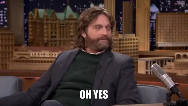 Watch and share Zach Galifianakis GIFs and Agreed GIFs by Ricky Bobby on Gfycat