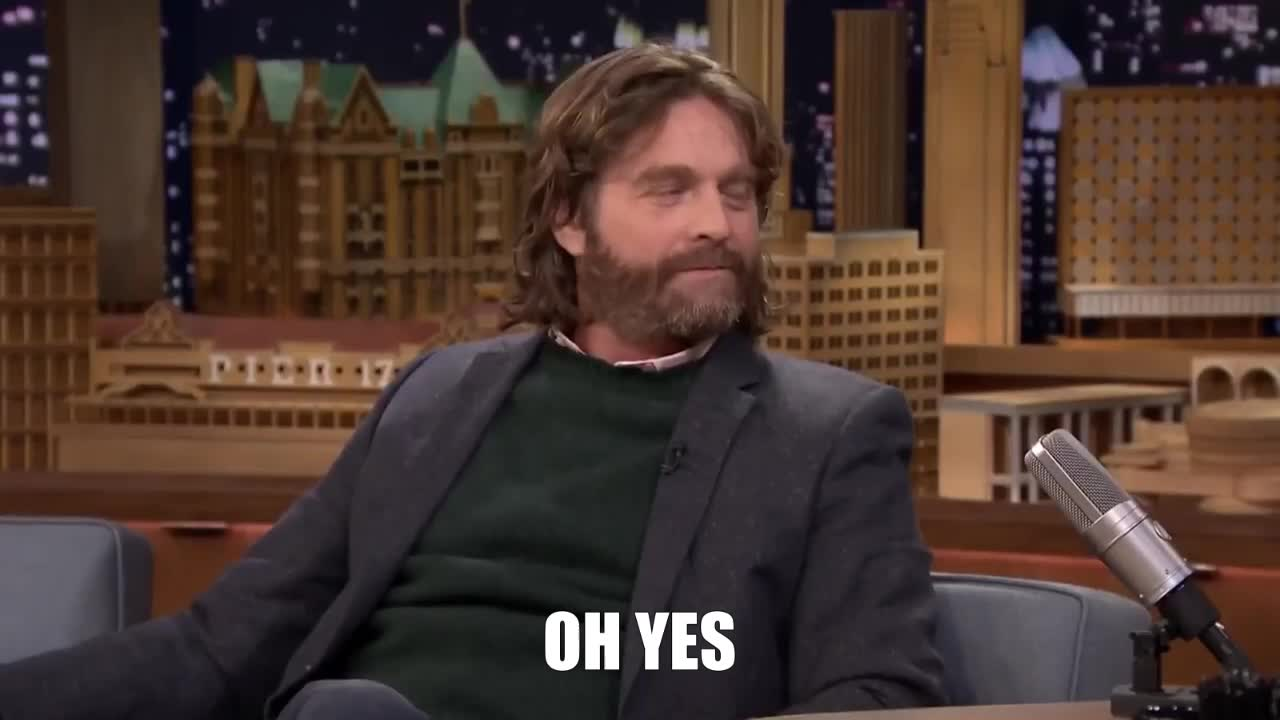 agree, agreed, oh yes, yeah, yes, zach galifianakis, Oh Yes Zach Galifianakis GIFs