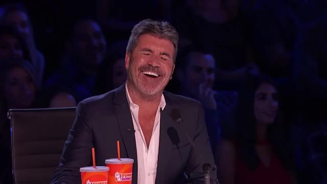 Watch this curated GIF by GIF Queen (@ioanna) on Gfycat. Discover more Cowell, Simon, agt, america, america's, awkward, excited, fake, for, got, happy, hell, laugh, lol, omg, smile, talent, wait, wow, yeah GIFs on Gfycat