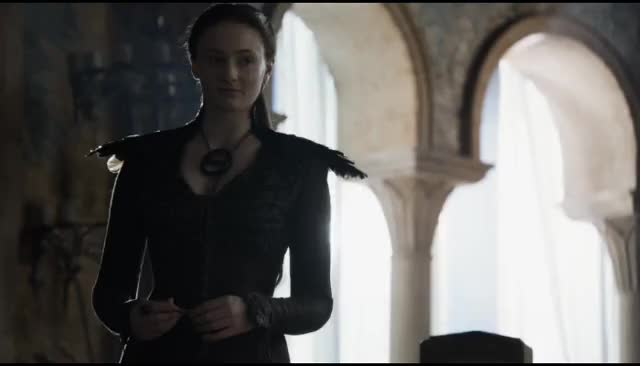 Watch this let's leave GIF by @shadowst17 on Gfycat. Discover more game of thrones, gameofthrones, got, hbo, let's bounce, let's go, let's leave, sansa stark, shall we go, sophie turner GIFs on Gfycat