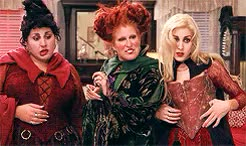 Watch eulonzo designs GIF on Gfycat. Discover more bette midler, hocus pocus, kathy najimy, mary sanderson, movies, my gifs, sarah jessica parker, sarah sanderson, the sanderson sisters, winifred sanderson GIFs on Gfycat