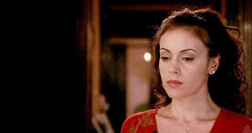 Watch and share Alyssa Milano GIFs on Gfycat