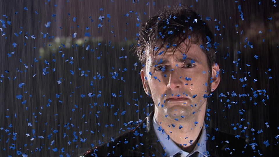 upvotegifs, Downvotes raining on sad Doctor Who (David Tennant) (reddit) GIFs