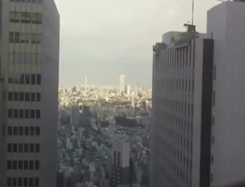 Watch and share Japan Earthquake Scary Footage 9.0 Buildings Swaying GIFs on Gfycat