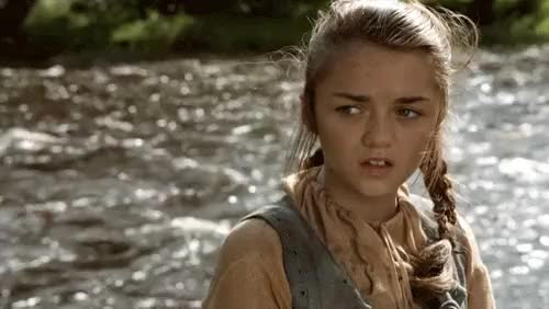 Watch and share Arya Stark GIFs by Campus Times Pune on Gfycat