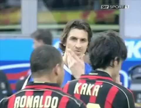 Watch and share Ibrahimovic GIFs and Ronaldo GIFs on Gfycat