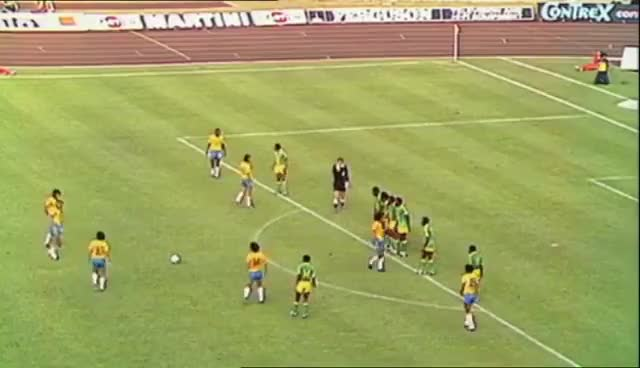 Watch and share Brazil -- Zaire, Football WC 1974 GIFs on Gfycat