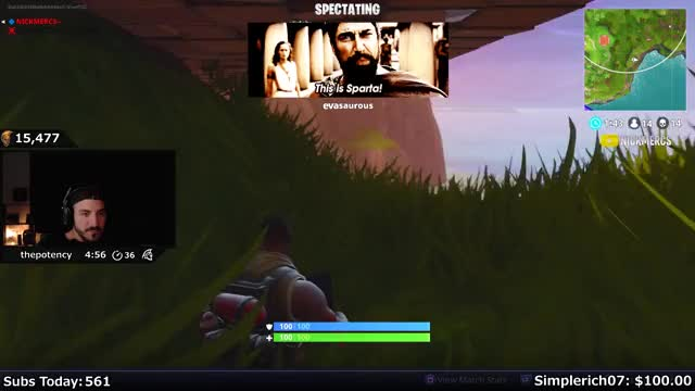 NICKMERCS Playing Fortnite - Twitch Clips