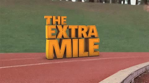 Watch The Extra Mile GIF on Gfycat. Discover more related GIFs on Gfycat