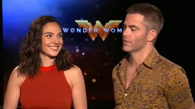 Watch and share Chris Pine GIFs and Gal Gadot GIFs on Gfycat