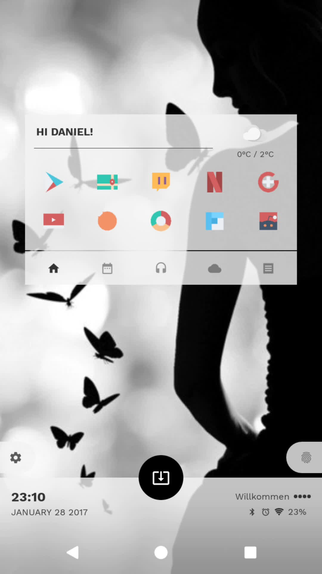 androidthemes, Silhouette (reddit) GIFs
