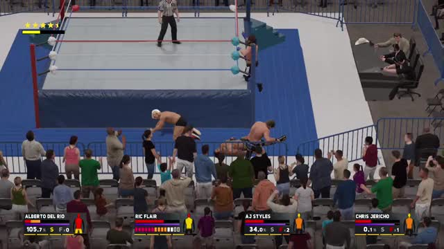 Watch and share Wwe 2k17 GIFs and Gaming GIFs on Gfycat