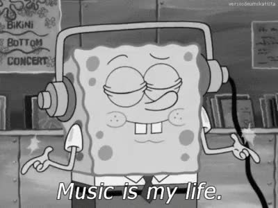 Watch this GIF on Gfycat. Discover more music, music is my life, muzyka, ser, spongebob, spongebon squarepants GIFs on Gfycat