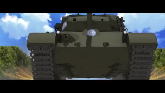 Watch and share Girls Und Panzer Der Film - Unlimited Crack Works (3 3) GIFs by kampfer87 on Gfycat