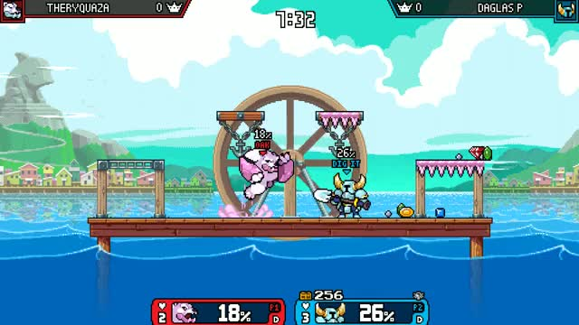 Watch and share Rivals Of Aether GIFs and Shovel Knight GIFs by Daglas P on Gfycat