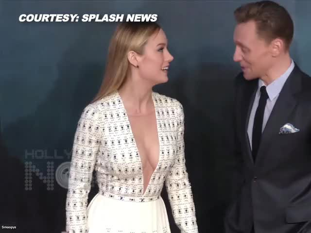 Watch and share Tom Hiddleston GIFs and Brie Larson GIFs on Gfycat