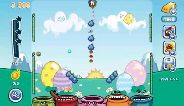 Watch and share Papa Pear Saga Level 696 (NO BOOSTERS) GIFs on Gfycat