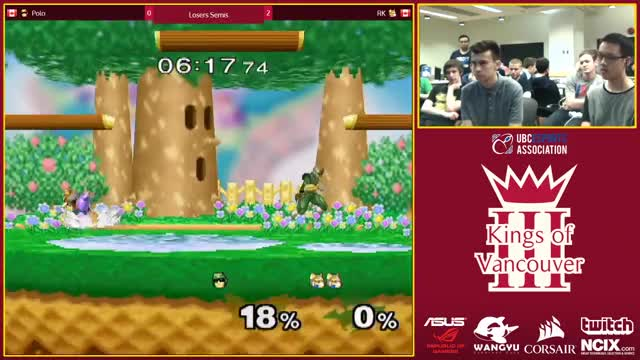 Watch Polo vs. RK - Melee Losers Semis - Kings of Vancouver III GIF by @22222222sfs on Gfycat. Discover more related GIFs on Gfycat