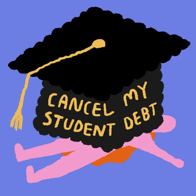 Watch and share Cancel Student Debt GIFs and Student Loans GIFs by INTO ACT!ON on Gfycat