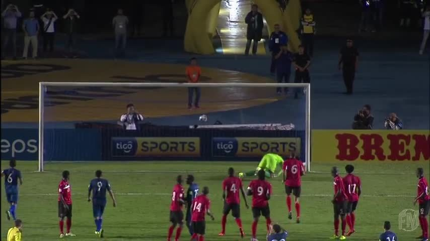 T&T, football, Kenwyne Jones volley vs Guatemala GIFs