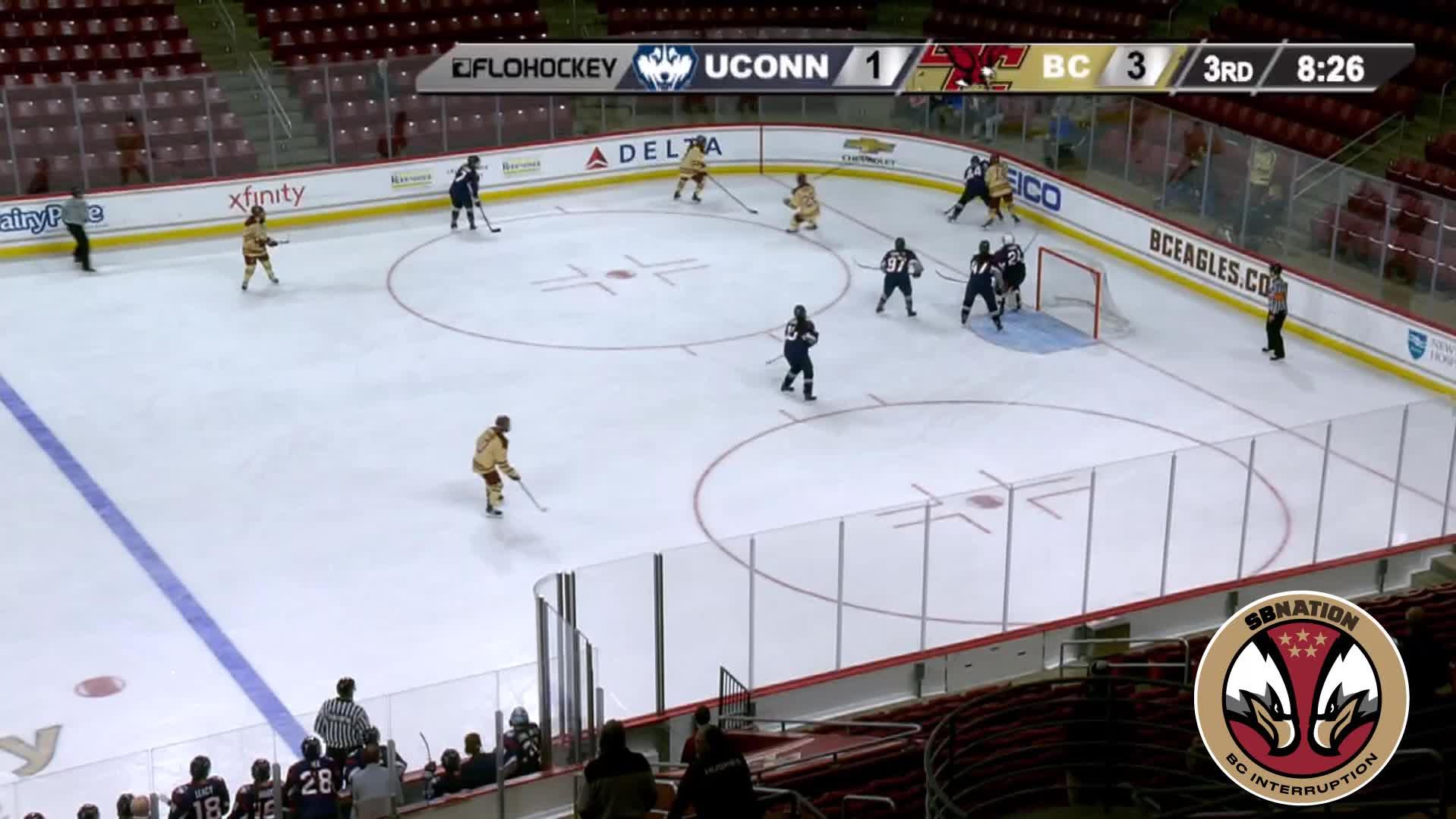 hockey, 5 Newkirk (W) UConn 3/1/19 GIFs