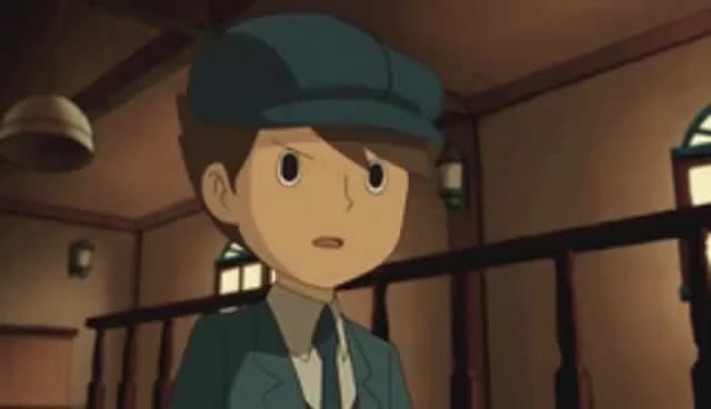 Watch Clive, Professor Layton I GIF on Gfycat. Discover more Clive, Layton, Professor GIFs on Gfycat