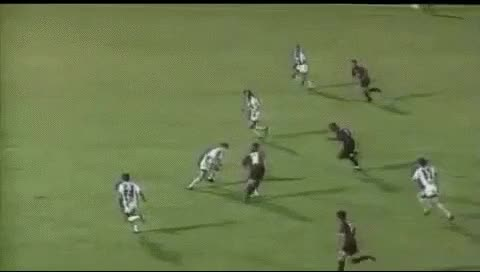 Watch and share George Weah. Pescara - Milan. 30.08.1995 GIFs by fatalali on Gfycat