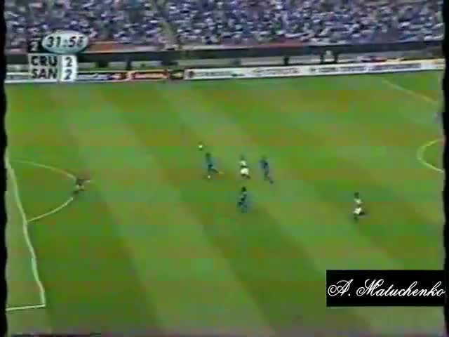 Watch and share Santos 2 X 2 Cruz Azul (MEX) - Libertadores 2003 - 21/05/03 GIFs on Gfycat