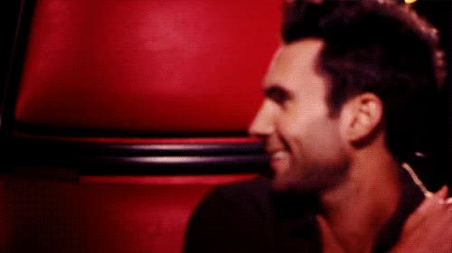 Watch and share Adam Levine GIFs and Hahaha GIFs by Reactions on Gfycat