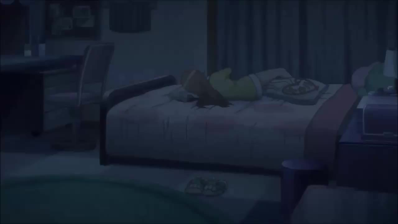 anime, kirino, oreimo, kirino sleeping GIFs