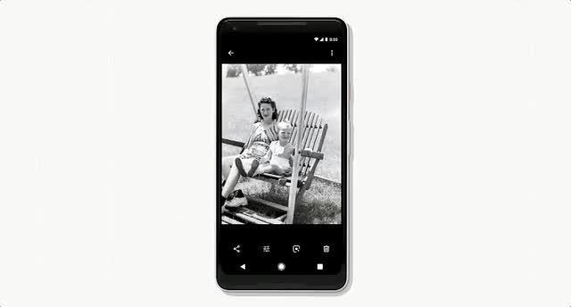 Watch and share Google Photos Colorize GIFs on Gfycat