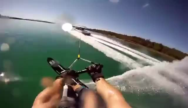 Watch and share Waterskiing GIFs on Gfycat